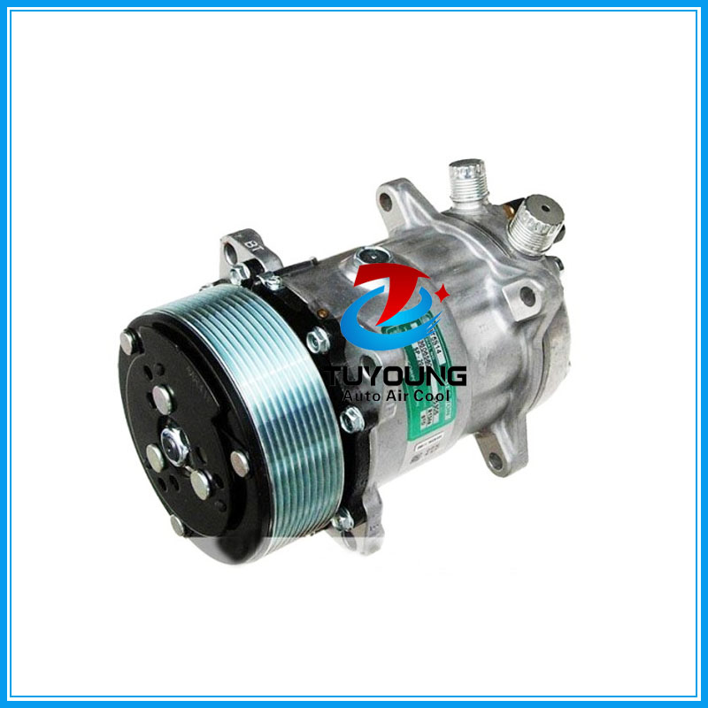 AC Compressor Sanden 5H14 SD508 10PK 12V/24V o-ring fitting